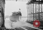 Image of cruiser USS Santa Fe CL-60 Camden New Jersey USA, 1942, second 17 stock footage video 65675053297