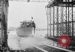Image of cruiser USS Santa Fe CL-60 Camden New Jersey USA, 1942, second 18 stock footage video 65675053297