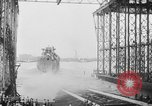 Image of cruiser USS Santa Fe CL-60 Camden New Jersey USA, 1942, second 26 stock footage video 65675053297