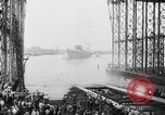 Image of cruiser USS Santa Fe CL-60 Camden New Jersey USA, 1942, second 39 stock footage video 65675053297