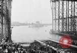 Image of cruiser USS Santa Fe CL-60 Camden New Jersey USA, 1942, second 43 stock footage video 65675053297