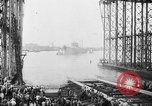 Image of cruiser USS Santa Fe CL-60 Camden New Jersey USA, 1942, second 44 stock footage video 65675053297