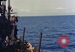 Image of USS Honolulu CL-48 Pacific Theater, 1943, second 33 stock footage video 65675053306