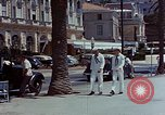 Image of United States sailor Cannes France, 1950, second 10 stock footage video 65675053315