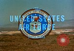 Image of Atlas missile Vandenberg Air Force Base California USA, 1968, second 17 stock footage video 65675053319