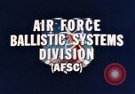 Image of Minuteman I and II missile Norton Air Force Base California USA, 1965, second 11 stock footage video 65675053323
