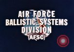Image of Minuteman I and II missile Norton Air Force Base California USA, 1965, second 13 stock footage video 65675053323