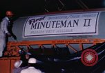Image of Minuteman I and II missile Norton Air Force Base California USA, 1965, second 47 stock footage video 65675053323