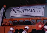 Image of Minuteman I and II missile Norton Air Force Base California USA, 1965, second 48 stock footage video 65675053323