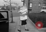 Image of English war bride New York United States USA, 1945, second 13 stock footage video 65675053333