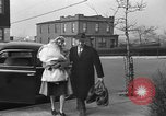 Image of English war bride New York United States USA, 1945, second 27 stock footage video 65675053333