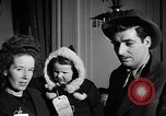 Image of English war brides arriving in America New York City USA, 1945, second 23 stock footage video 65675053335