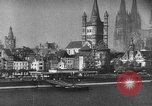 Image of Cologne Germany before and after World War 2 Cologne Germany, 1945, second 58 stock footage video 65675053344