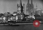 Image of Cologne Germany before and after World War 2 Cologne Germany, 1945, second 59 stock footage video 65675053344
