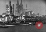 Image of Cologne Germany before and after World War 2 Cologne Germany, 1945, second 61 stock footage video 65675053344
