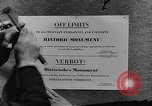 Image of American Military Government men Cologne Germany, 1945, second 28 stock footage video 65675053345
