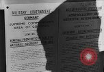 Image of American Military Government men Cologne Germany, 1945, second 30 stock footage video 65675053345