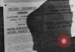Image of American Military Government men Cologne Germany, 1945, second 31 stock footage video 65675053345
