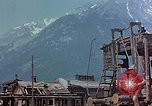 Image of ruins of a factory Bavaria Germany, 1945, second 19 stock footage video 65675053360