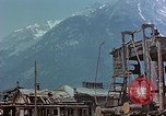 Image of ruins of a factory Bavaria Germany, 1945, second 27 stock footage video 65675053360