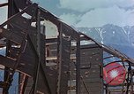 Image of ruins of a factory Bavaria Germany, 1945, second 32 stock footage video 65675053360