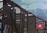 Image of ruins of a factory Bavaria Germany, 1945, second 35 stock footage video 65675053360