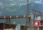 Image of ruins of a factory Bavaria Germany, 1945, second 55 stock footage video 65675053360