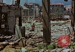 Image of ruins of a factory Bavaria Germany, 1945, second 59 stock footage video 65675053360
