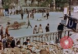 Image of subway entrance Berlin Germany, 1945, second 22 stock footage video 65675053362
