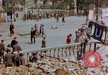 Image of subway entrance Berlin Germany, 1945, second 28 stock footage video 65675053362