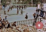 Image of subway entrance Berlin Germany, 1945, second 36 stock footage video 65675053362
