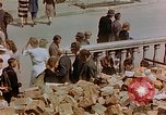 Image of subway entrance Berlin Germany, 1945, second 53 stock footage video 65675053362