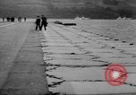 Image of Floating Air Strips United Kingdom, 1945, second 4 stock footage video 65675053379