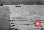 Image of Floating Air Strips United Kingdom, 1945, second 27 stock footage video 65675053379