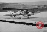 Image of Floating Air Strips United Kingdom, 1945, second 36 stock footage video 65675053379