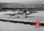 Image of Floating Air Strips United Kingdom, 1945, second 38 stock footage video 65675053379