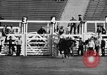 Image of Rodeo event Los Angeles California USA, 1945, second 13 stock footage video 65675053384