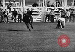 Image of Rodeo event Los Angeles California USA, 1945, second 17 stock footage video 65675053384