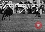 Image of Rodeo event Los Angeles California USA, 1945, second 18 stock footage video 65675053384