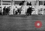 Image of Rodeo event Los Angeles California USA, 1945, second 21 stock footage video 65675053384