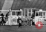 Image of Rodeo event Los Angeles California USA, 1945, second 23 stock footage video 65675053384