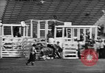 Image of Rodeo event Los Angeles California USA, 1945, second 24 stock footage video 65675053384