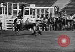 Image of Rodeo event Los Angeles California USA, 1945, second 29 stock footage video 65675053384