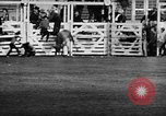 Image of Rodeo event Los Angeles California USA, 1945, second 32 stock footage video 65675053384