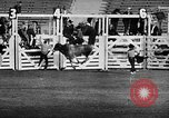 Image of Rodeo event Los Angeles California USA, 1945, second 34 stock footage video 65675053384