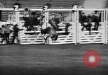 Image of Rodeo event Los Angeles California USA, 1945, second 35 stock footage video 65675053384