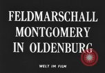 Image of Field Marshal Montgomery Oldenburg Germany, 1945, second 4 stock footage video 65675053403