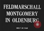 Image of Field Marshal Montgomery Oldenburg Germany, 1945, second 5 stock footage video 65675053403