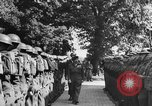 Image of Field Marshal Montgomery Oldenburg Germany, 1945, second 33 stock footage video 65675053403