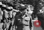 Image of Field Marshal Montgomery Oldenburg Germany, 1945, second 36 stock footage video 65675053403